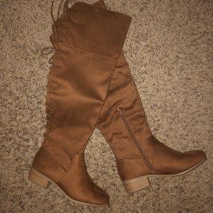 Brand new Charlotte Russe OTK Boots Size 8